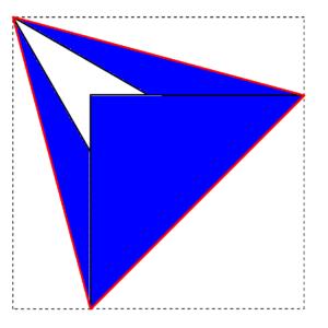 正三角形の完成
