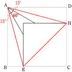 正三角形となる理由
