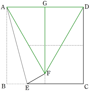 十字への折り目2