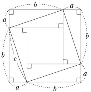 バースカラの証明の図